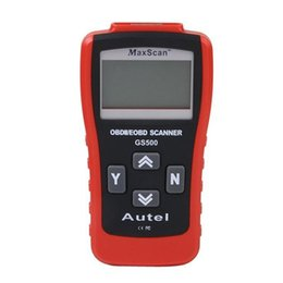 Wholesale Computer Diagnostic - GS500 Car Repairing Tool OBD2 OBD2 Scanner Car Computer Vehicle Diagnostics Tool Auto Code Reader Scanner