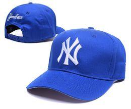 Wholesale Snapback Caps New York - New Arrival Men's New York NY Golf Visor Snapback Hats Embroidered Letter NY Logo Leisure Summer Bent Visor Caps