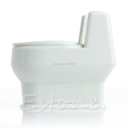 Wholesale Plastic Toy Toilets - Wholesale- Mini Interesting Funny Toilet Bowl Supernatural Water Gun Toy For Kids Children New -B116