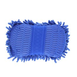 Wholesale Chenille Towels Wholesale - Wholesale- 22*11*6cm Car Wash Auto Hand Soft Towel Microfiber Chenille Anthozoan Washing Gloves Coral Fleece Sponge Car Washer