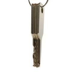 Wholesale Side Bag Wholesale - High quality 10pcs Jiggler Keys Lock Pick Set For Double Sided Lock professional locksmith tool leather bag