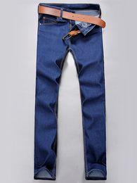 Wholesale Slim Straight Pants Men Wholesale - Wholesale- Wildgeeker Men Pants Brand Spring Summer New Fashion 2017 Slim Straight Men Casual Pants 100% Pure Cotton Man Trousers Plus Si