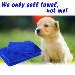 Wholesale Dogs Cloths - Microfiber Dog Towel Drying Jacket Blanket Pet Bath Towels Hypoallergenic Chemical-Free Cleaning And Grooming Absorbent Animal Cloths