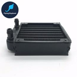 Ordinateurs gpu en Ligne-En gros plein aluminium 80mm 90mm radiateur de refroidissement par eau 8 canaux CPU-80 pour système informatique CPU GPU VGA RAM système d'échange de chaleur