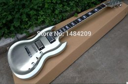 Wholesale Cnc Body - Wholesale- custom guitar shape with cnc working upper body contour shape, strip finished gloss, chrome parts!