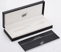 Wholesale Gift Box For Pencil - Luxury Montel pencil case high quality pen box for present gifts with service guide and writing instruments free shipping