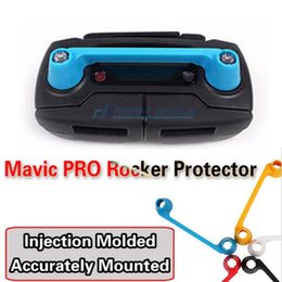 Wholesale Electric Wires - Mavic Pro Remote Controller Connected Rocker Protector Dual Siamesed Pitman Fixer Wear-Proof Waggling for DJI Mavic Pro