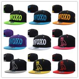Wholesale Ovoxo Snapbacks - Wholesale New Men's Women's Basketball Snapback Baseball Snapbacks Ovoxo Football Hats Mens Flat Caps Adjustable Cap Sports Hat mix order