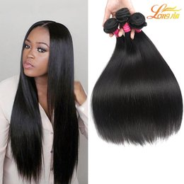 Wholesale Hair Dye Wholesale Cheap - 100% Unprocessed Indian Human Straight Hair Weave 3Bundles 100g pcs Cheap Indian Virgin Human Straight Hair Natural Color Can Be Dyed