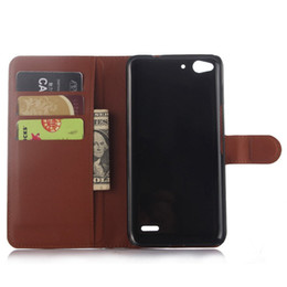 Wholesale Luxury Smart Cell Phone - Luxury Wallet Flip PU Leather Case Cover For Vodafone Smart ultra 6 Case Cell Phone Shell Back Cover With Card Holder Stand