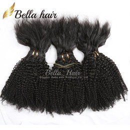 Wholesale 18 Thread - New Brazilian Hair Bundles Virgin Human Hair Braid in Bundles No Glue No Thread No Clips Machine Weft Braid in Virgin Hair Julienchina