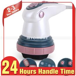 Canada Nouveau produit Vibrations infrarouges Masseur corporel Réduction de la cellulite amincissant l'appareil de beauté avec quatre sondes de massage de remplacement Offre