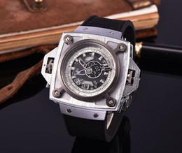 Wholesale Skeleton Watch Bronze - 2017Luxury brand Fashion Skeleton Watches WOmenes or men Skull sport quartz watch 2