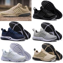 Wholesale Woven Casual Shoes - 2017 Presto Ultra SE Woven Sand All Black Midnight Navy Wolf Grey Running Shoes Airs Cushion Outdoor Casual Walking Sneakers Size 36-45