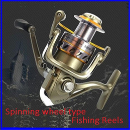 Wholesale Type Fishing Rod - Fishing fish wheel spinning wheel round rods All metal head sea pole Guangwei fishing vessel type GW.MA1-6000 out222