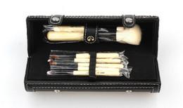Wholesale Horse Brushes Wholesale - Bob 9pcs Brand Makeup Brushes Cosmetic Foundation BB Cream Powder Blush Make up Tools DHL Free shipping