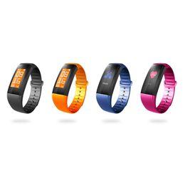 Wholesale Heart Monitors For Women - M99 color Smart Wristband Smart Bracelet Women Men Heart Rate Monitor Bluetooth Smartband Pedometer Sports Fitness Band Waterproof