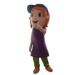 Wholesale Mascot Costumes For Girls - Debby Maiden Virgin Little Girl Mascot Costume Popular Cartoon Character Costume For Adult Fancy Dress Halloween carnival costumes