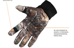 Wholesale Wholesale Bike Gloves - 2017 New Riding Hiking Outdoor Sports Gloves Camouflage Mens Women's Summer Bike Bicycle Gloves Nylon Sport Mountain Bike Gloves