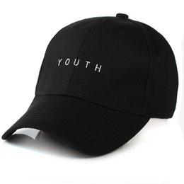 Wholesale Casual Fashion For Women - Fashion Black Pink White YOUTH Dad Hats For Men Women Baseball Adjustable Palace Deus Cap Ovo Drake Hat Gorras Planas Hip Hop