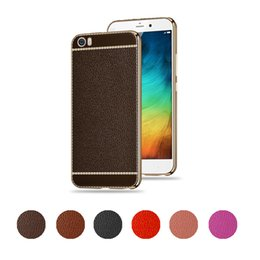Wholesale Star Mobile Case - Litchi Pattern TPU Case For XiaoMi RedMi 4 5 Plus Note Full Package Soft Shell New Star Mobile Phone Cell Phone Cases