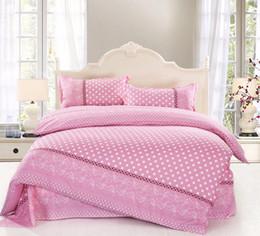 Wholesale Princess Quilts - Wholesale- Free shipping 6 colors Princess style Bedding Sets bed linen for children King size Quilt Duvet Cover Pillow