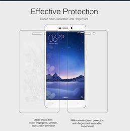 Wholesale Nillkin Screen Protector Wholesale - Wholesale-Original NILLKIN Super Clear HD or Matte Protective Film For Xiaomi Redmi 3 Screen protector, for Xiaomi Redmi 3 phone Case