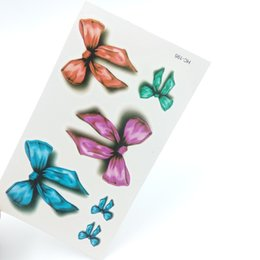 Wholesale Colorful Eye Stickers - Wholesale-1pcs Colorful Rosette Fashion Temporary Tattoo Stickers Temporary Body Art Waterproof Tattoo Pattern HC195