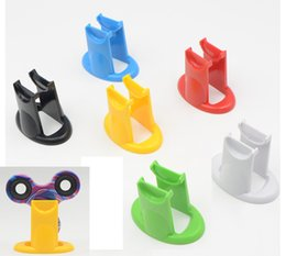 Wholesale Fidget Spinner Toy ABS Plastic Stent Display Rack spin Holder EDC Hand Spinner Finger gyro accessories