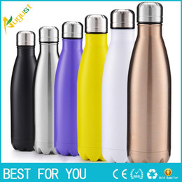 Wholesale Hot Expansion - New hot 10 color thermos vacuum flask Expansion Bottle of coke bottle coffer Sport cup kettle flask bottle botella
