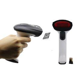 Wholesale 2d Barcode Reader - US Stock! YT-2401 Bluetooth Wireless Barcode Scanner 1D 2D Reader Gun PDF QR Codes Data Matrix Free Shipping