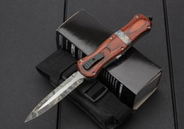 Wholesale Auto Gear Box - Benchmade BM A165 Infidel AUTO Tactical knife Double action Fine edge Blade tactical survival gear knives with retail box
