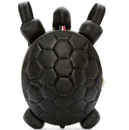 Wholesale Turtles School Bag - Sea turtle backpack Fashion leather daypack Tortoise schoolbag 3D animal rucksack Sport school bag Outdoor day pack