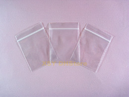 """Wholesale Bag Thickness - Clear Plastic Small Ziplock Bag Multi Size and Quantity 2.4 Mil Thickness Width 40 to 60mm (1.5"""" - 2.3"""") Length 65 to 80mm (2.4 - 3 Inches)"""