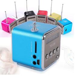 TD-V26 Mini haut-parleur Lecteur de musique Micro SD TF USB Radio FM portable Haut-parleur stéréo pour téléphone portable PC portable MP3 W ? partir de fabricateur