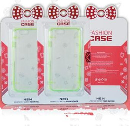 Wholesale Note Hello Case - hello Kitty Retail package boxes box Transparent Blister paper card for phone case iphone 7 6 6S Plus Samsung S7 Edge Note 5