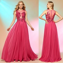 Wholesale Sage Chiffon Wholesale Dress - Elie Saab Long Sheath Prom Dresses Chiffon Sequined Appliques Jewel Sleeveless Hollow Covered Button Sweep Train Evening Gowns