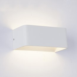 Canada LED Mur Lampes 5W 10W 15W AC85-265V Moderne Simple Chambre Lumières Intérieur Salle À Manger Couloir Éclairage Aluminium Matériel supplier modern wall lamp indoor Offre
