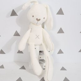 Wholesale Dolls Plush Monkey Toy - Cute Rabbit Bunny Baby Soft Plush Toys Mini Stuffed Animals Kids Baby Toys Smooth Obedient Sleeping Rabbit Doll Free Delivery