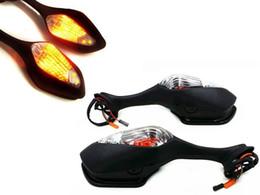 Wholesale Led Mirrors Honda - LED Turn Signal Light Rear View Mirrors For Honda CBR1000RR 2004-2011