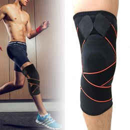 Wholesale breathable knee brace - Mayitr 1pc 3 Sizes Sports Knee Support Brace Professional Breathable Sleeve Brace Bandage Patella Protector Running Cycling