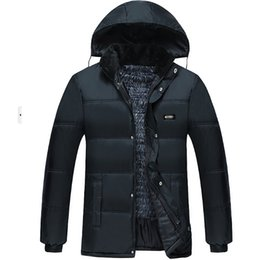 Wholesale Thick Warm Cheap Winter Coat - Wholesale- 2016 Explosion models autumn winter new men fashion casual Cotton-padded jacket Thickened keep warm coat Cheap wholesale