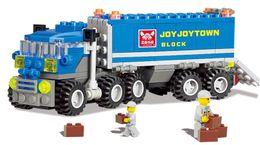 Wholesale Kazi Educational Toys - KAZI 6409 Truck Building Blocks Compatible With City Car Brick Educational Toys For Kids Birthday Gift
