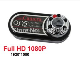 Wholesale Infrared Camera Webcam - Wholesale-QQ5 Mini Camera Full HD 1080P 720P Infrared Night Vision DV Camera Camcorder 12MP Cam Webcam 170 Wide Angle Motion Detection