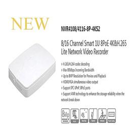 Wholesale Dvr Logo - Free Shipping DAHUA 8 16 Channel Smart 1U 8PoE 4K&H.265 Lite NVR without Logo NVR4108-8P-4KS2 NVR4116-8P-4KS2