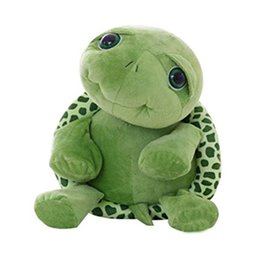 Wholesale Baby Turtle Plush Toy - Children Baby Big Eyes Turtle Plush Toy Turtle Doll Turtle Stitch Plush Toys Christmas Gifts for Kids