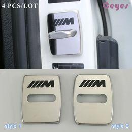 Wholesale m3 e92 - Car door lock cover for BMW M F31 F34 E52 E53bmw x5 e92 m3 x1 e46 door lock protector Car Styling 4pcs lot