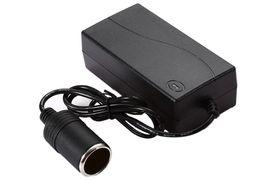 Wholesale Dc 12v Power Battery - 100V - 240V AC to 12V DC Perfect Protection 60W Vehicle Power Converter Battery Adapter Car Exquisite Cigarette Lighter Socket