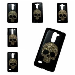 Wholesale Lg G2 Skin - 3D Retro Vintage Metallic Skull Skeleton Black Back Hard Protective Case Cover Skin Shell for LG G2 G3 G4 G5 G6 V20 K7 K10 G Stylo G Vista