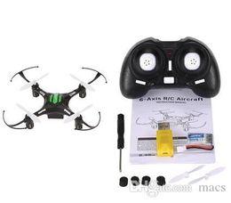 alarme chave de tampa Desconto 100% Original JJRC H8 Mini Zangão 2.4G 4CH 6 Eixos RTF RC Quadcopter 360 Graus de Rolo modo CF One Press Return profissional drones câmera aérea